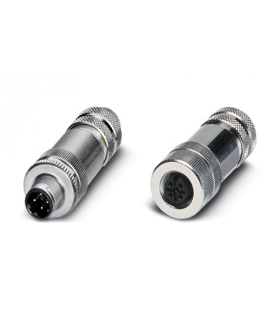 Plug and ethernet connectors