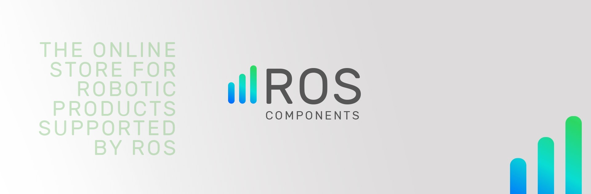 Online store for robotic products supported by ROS - ROS Components